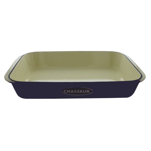 Chasseur French Blue Cast Iron 4-quart Gratin
