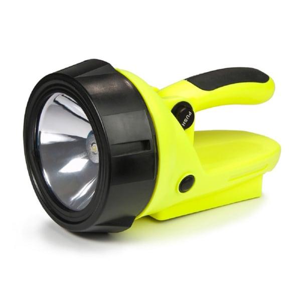 Yellow Hybrid Light Solar Spotlight