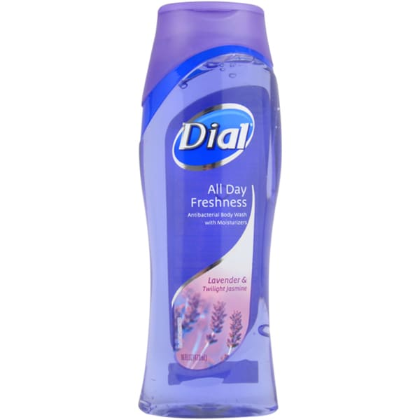 Dial Clean and Refresh Antibacterial Lavender Twilight Jasmine 16-ounce Body Wash