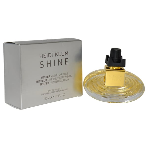 Heidi Klum Shine Women's 1.7-ounce Eau de Toilette Spray (Tester)