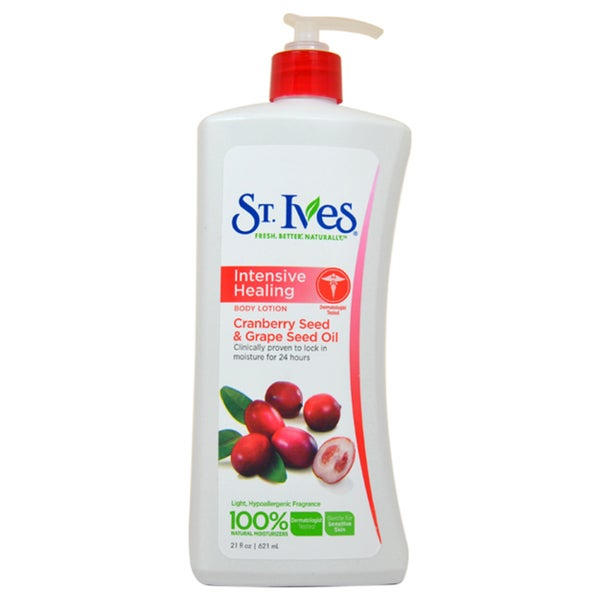 St. Ives Intensive Healing 21-ounce Body Lotion