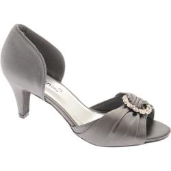 Women's Annie Chicago Pewter Satin