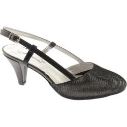 Women's Annie Willow Black Metallic Mesh