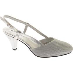 Women's Annie Willow Silver Metallic Mesh