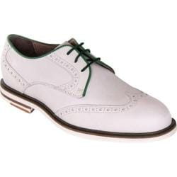 Men's Giovanni Marquez 7987 ABC White/Green Leather