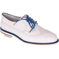 Men's Giovanni Marquez 8386 Roadstar White/Blue Leather