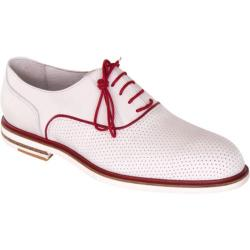 Men's Giovanni Marquez 8837 Roadstar White/Red Leather