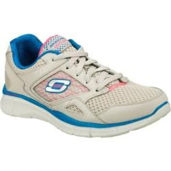 Women's Skechers Equalizer Light Gray/Blue