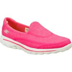 Women's Skechers GOwalk 2 Super Sock Pink