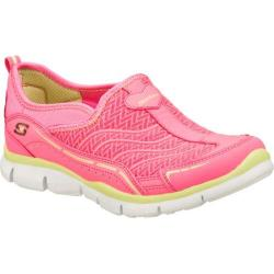 Girls' Skechers Gratis Legendary Pink/Green