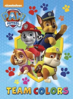 Paw Patrol Team Colors (Board book)