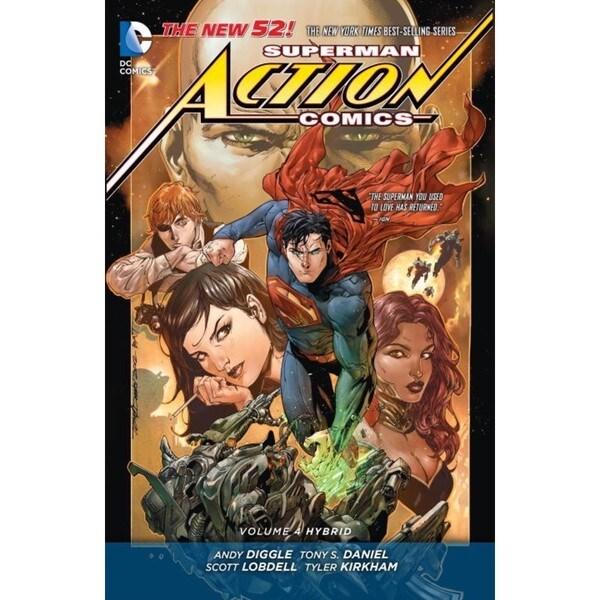 Superman Action Comics 4: Hybrid (Paperback) 12850764