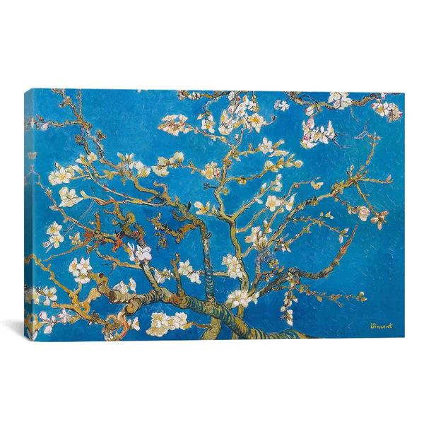 Almond Blossom by Vincent van Gogh Canvas Print Wall Art