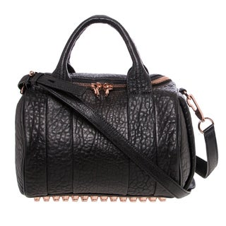 Alexander Wang Rockie Pebbled Leather Satchel