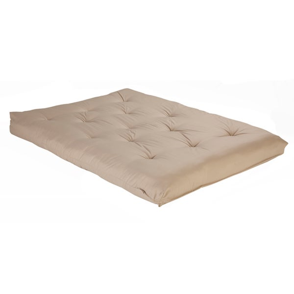 Reversible 6-inch Full-size Foam Futon Mattress
