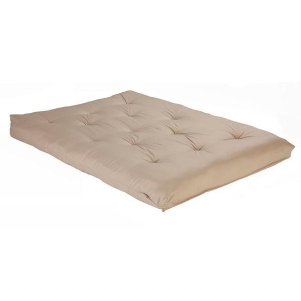 Reversible 6-inch Full-size Foam Futon Mattress