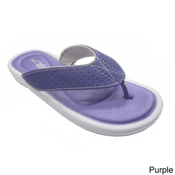 Blue Women's Stoke Rubber Flip-flop Sandals