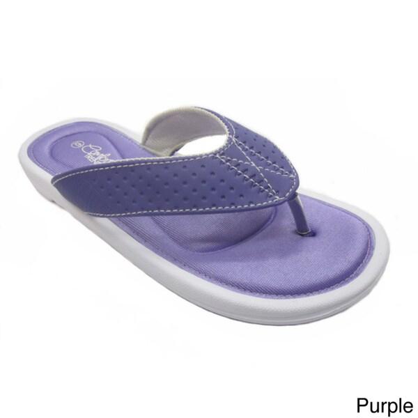 Blue Women's Stoke Rubber Flip-flop Sandals