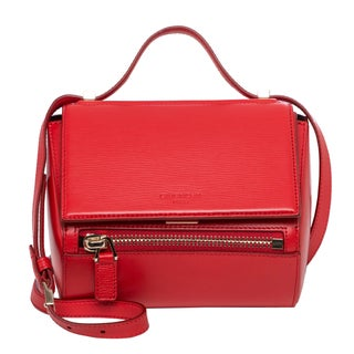 Givenchy Mini Pandora Box Red Crossbody Bag