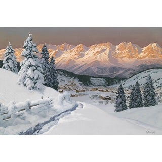 Winter Wonderland' Oil on Canvas Art