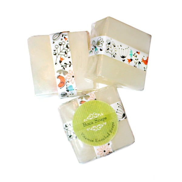Boca Coconut Soaps (Set of 3)