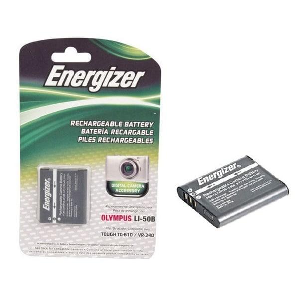 Energizer Olympus EN- Li50b Rechargeable Lithium-Ion Battery