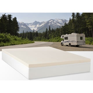 Select Luxury RV 2-inch Memory Foam Mattress Topper - Overstock Shopping - The Best Prices on ...