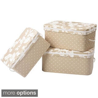 Jennifer Taylor Decorative Rectangular 3-piece Box Set