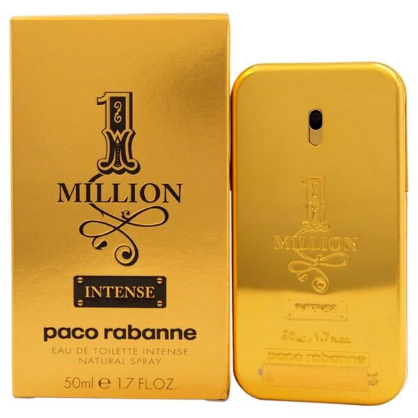 Paco Rabanne 1 Million Intense Men's 1.7-ounce Eau de Toilette Spray