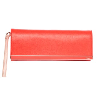 Fendi Rush Colorblock Clutch