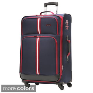 IZOD Collegiate 24-inch Medium Spinner Upright Suitcase