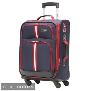 IZOD Collegiate 20-inch 4-wheel Expandable Spinner Carry On Suitcase