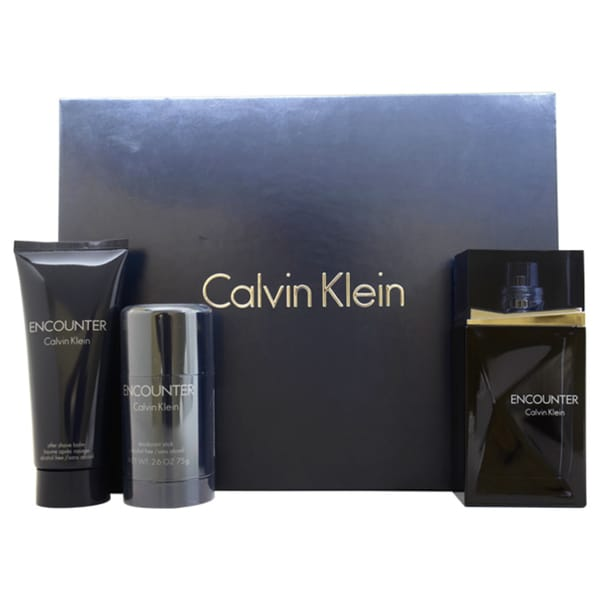 Calvin Klein Encounter Men's 3-piece Fragrance Set