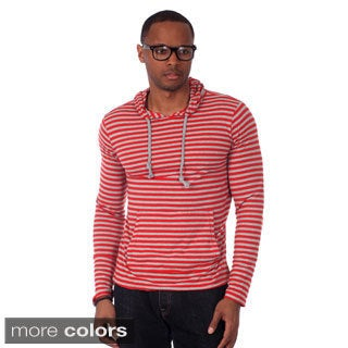 Filthy Etiquette Men's Kangaroo Pocket Striped Hoodie