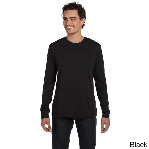 Men's Long Sleeve Basic Crew Neck Top