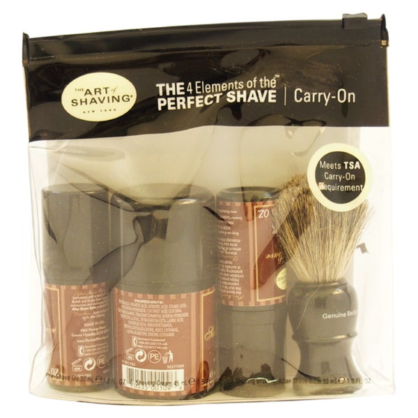 The Art of Shaving Perfect Shave Sandalwood Carry-on Kit