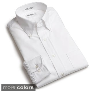 Men's Long-sleeve Wrinkle-resistant Oxford Shirt