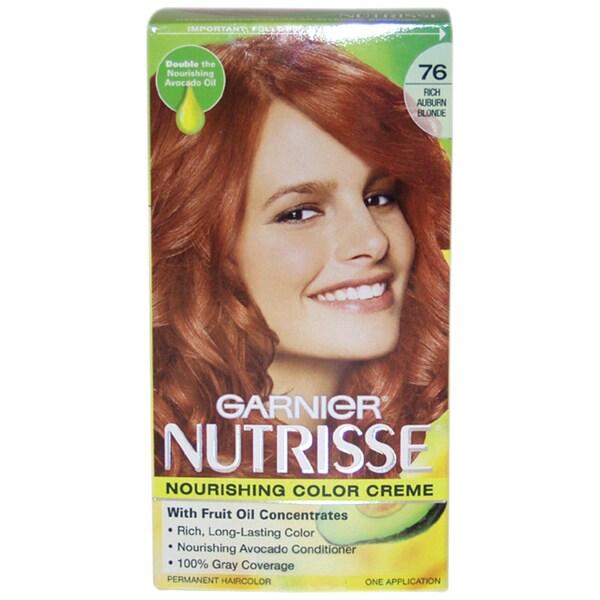 Nutrisse Nourishing 76 Rich Auburn Blonde Color Creme