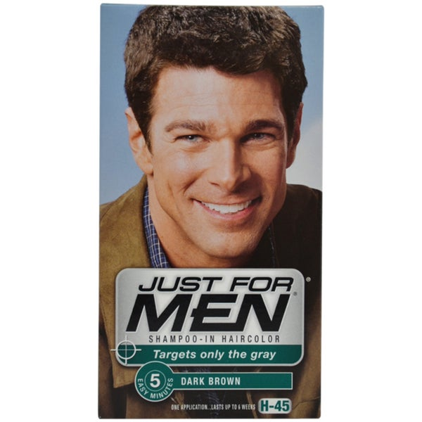 Just for Men Shampoo-in H-45 Dark Brown Hair Color
