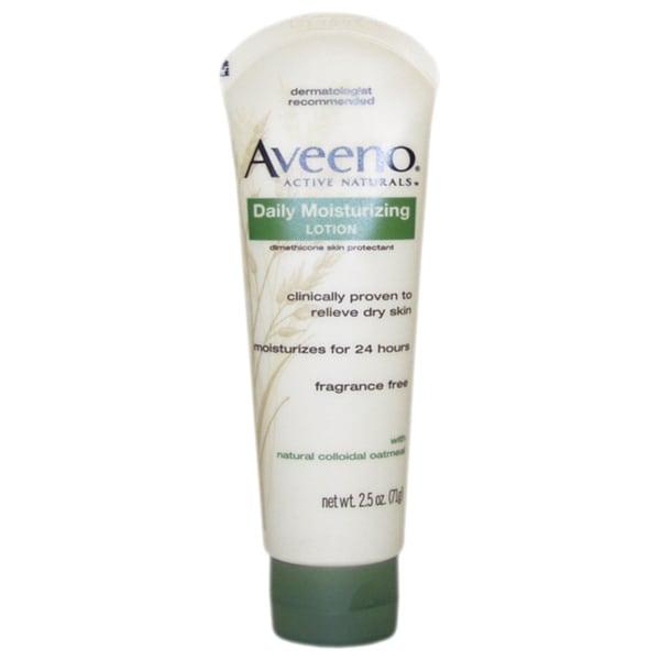 Aveeno Active Naturals 2.5-ounce Daily Moisturizing Lotion
