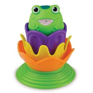 Munchkin Magic Color Lily Pad Stackers Bath Toy