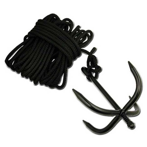 Grappling Anchor Hook and Nylon Ninja Rope Cadet Bushcraft