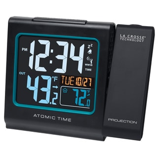 LaCrosse Atomic Projection Alarm Clock