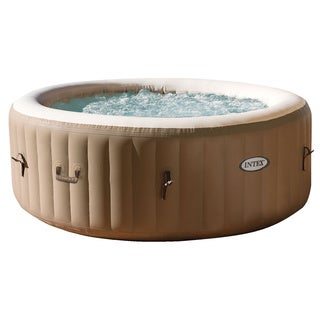 Intex PureSpa Inflatable Bubble Therapy Hot Tub