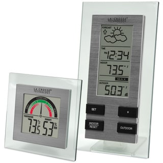 Weather Monitor Receiver and Sensor Two-piece Set