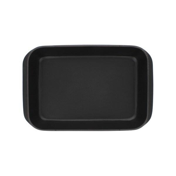 Chasseur French 2-quart Rectangular Black Cast Iron Gratin Dish
