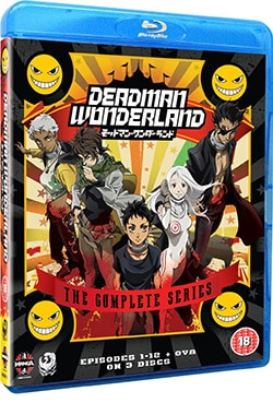 Deadman Wonderland: Complete Series (Blu-ray Disc)