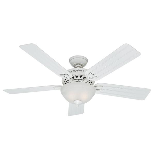 Hunter 52-inch Beachcomber White Ceiling Fan