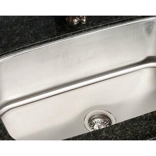 Polaris P813-18 Gauge Single Bowl Stainless Steel Sink