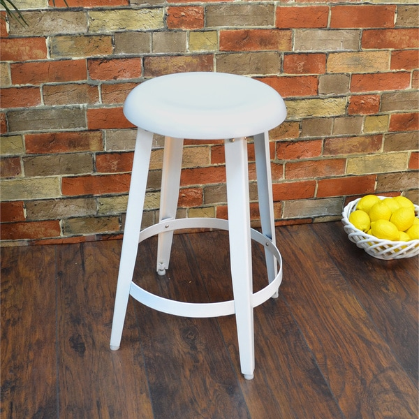 Hand Forged Craton Contemporary Metal Stool Overstock